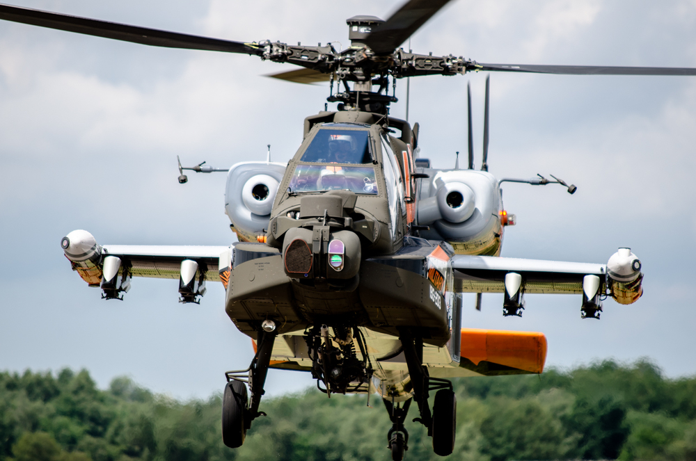 Apache demo team Royal Netherlands Air Force