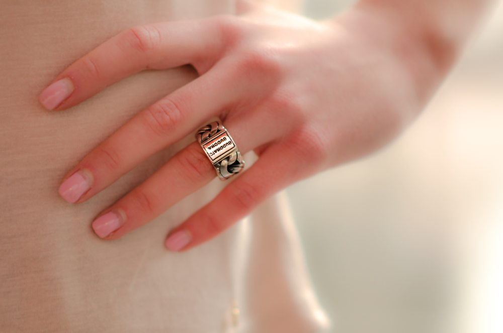 Product shot: ring