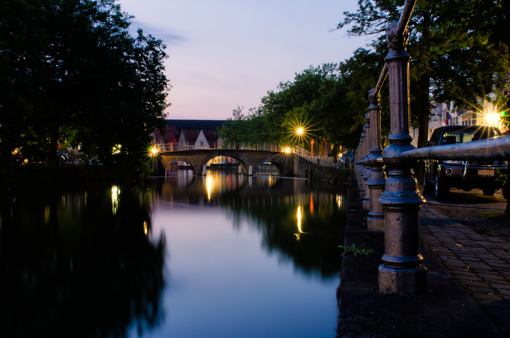 Bridge in Brugge, Belgium. Exposure: 30 sec @ f/22 ISO 400, 24 mm