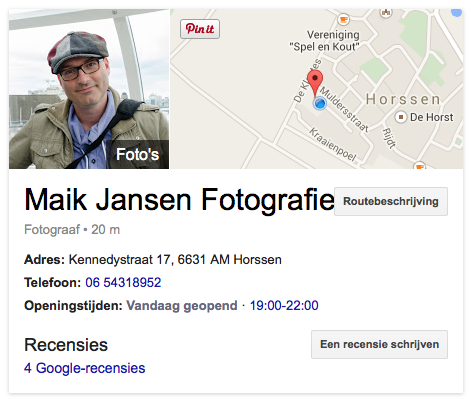 Google Maik Jansen Fotografie