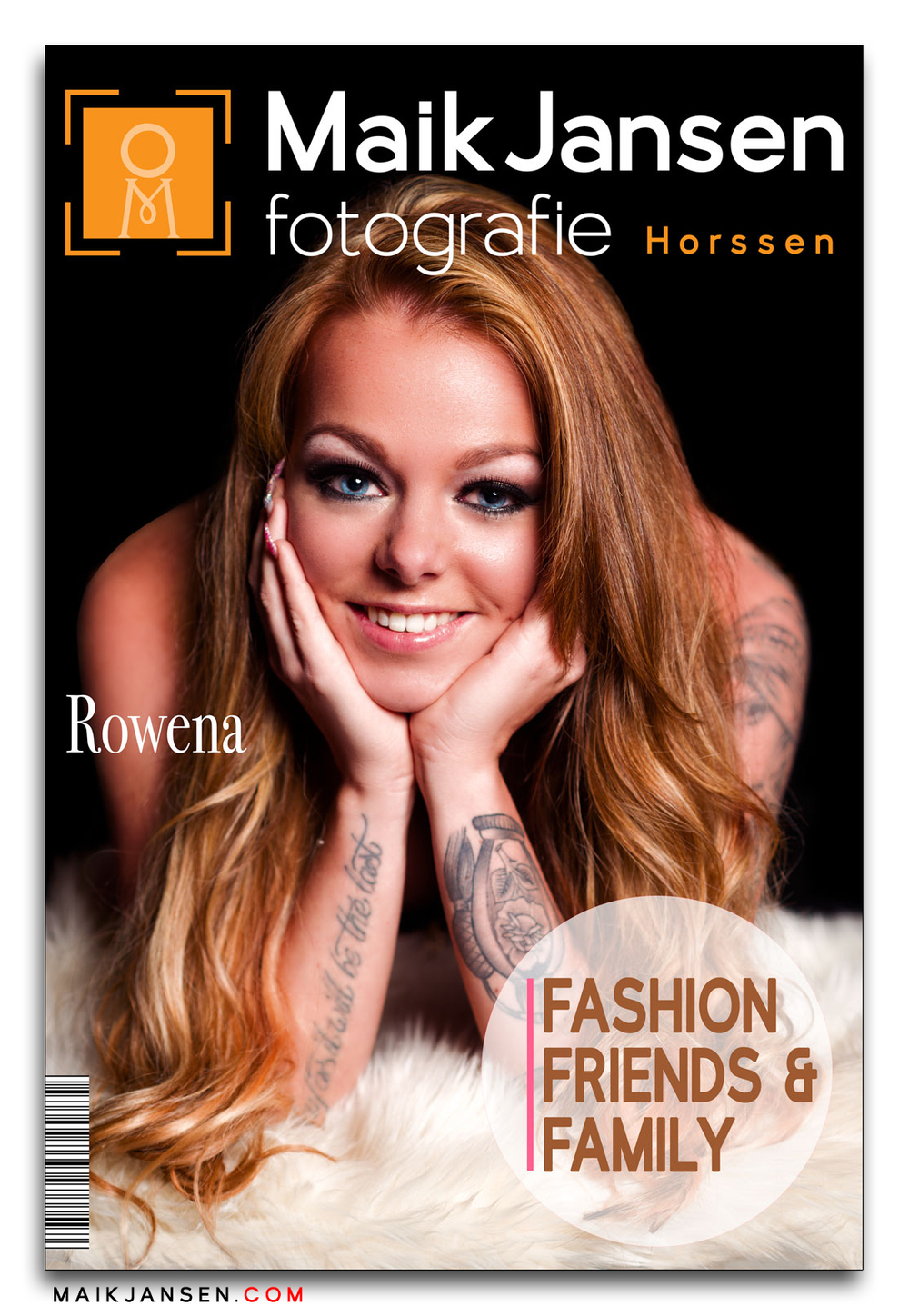 Cover of a Fashion Magazine