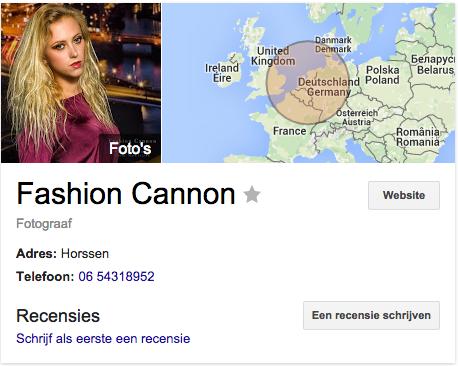 Google Fashion Cannon
