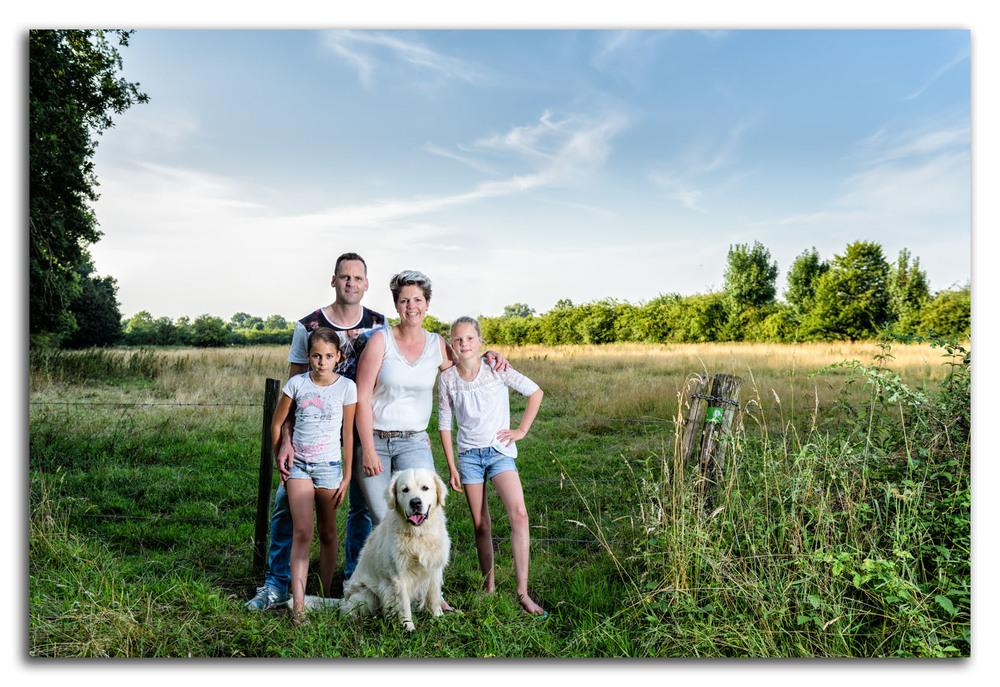 Ook een leuk idee voor een familieportret!