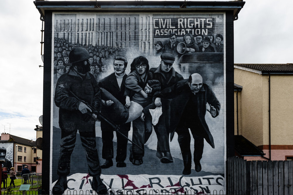 Bloody Sunday Mural