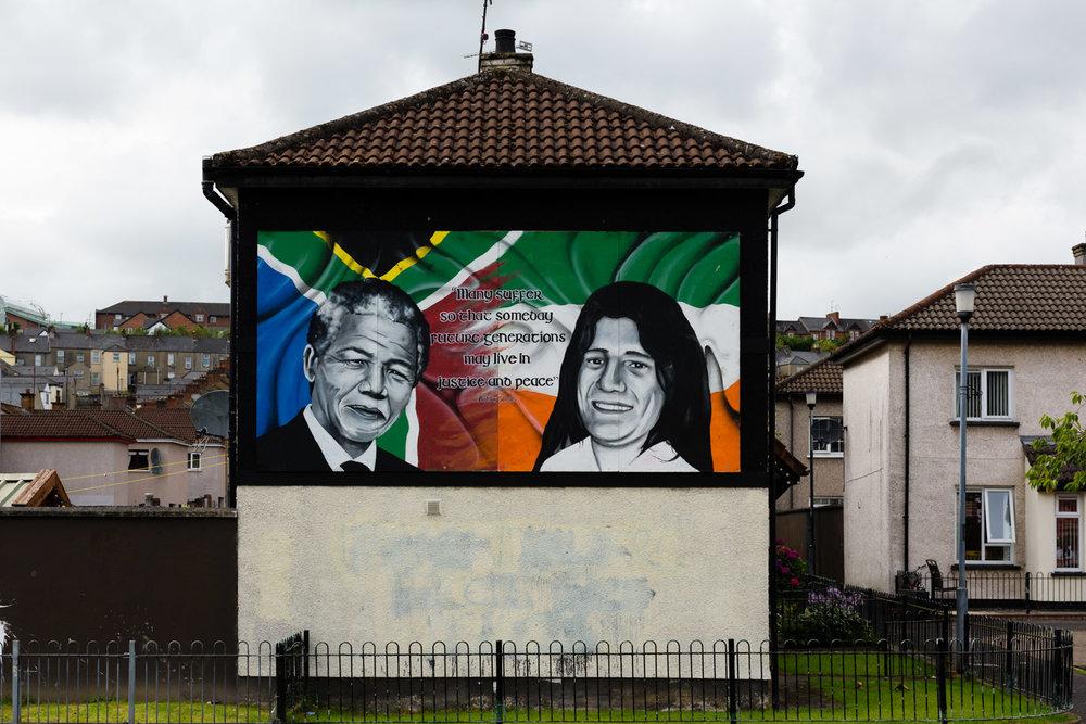Nelson Mandela en Bobby Sands