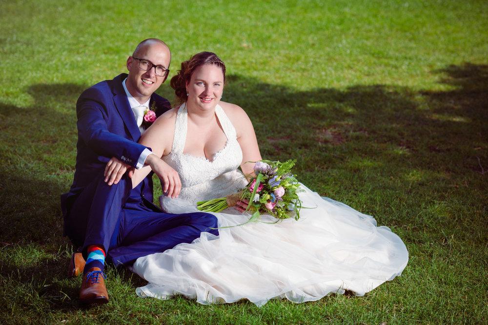 Bruidspaar_gras