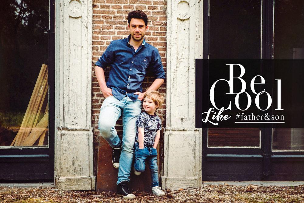 Cool vader en zoon