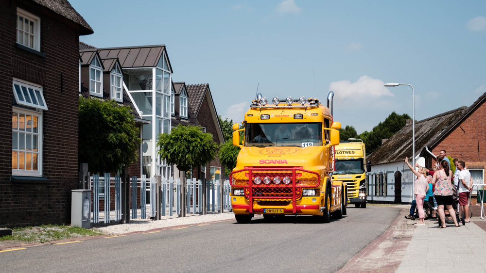 Truckerskonvooi Horssen