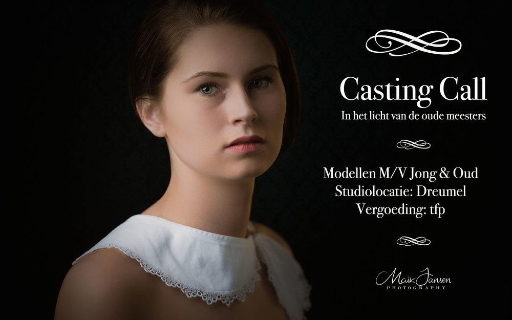 Casting Call Dutch Masters