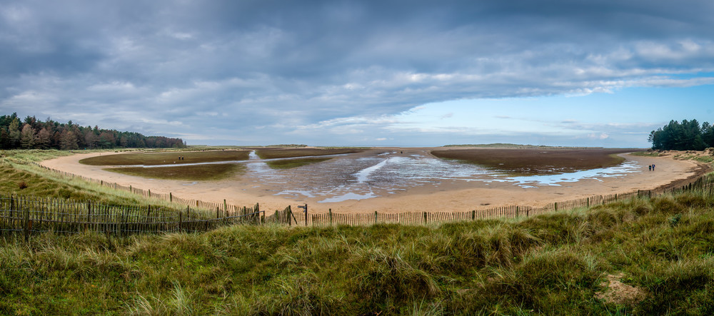 Holkham Beach near Wells on the North Norfolk Coast