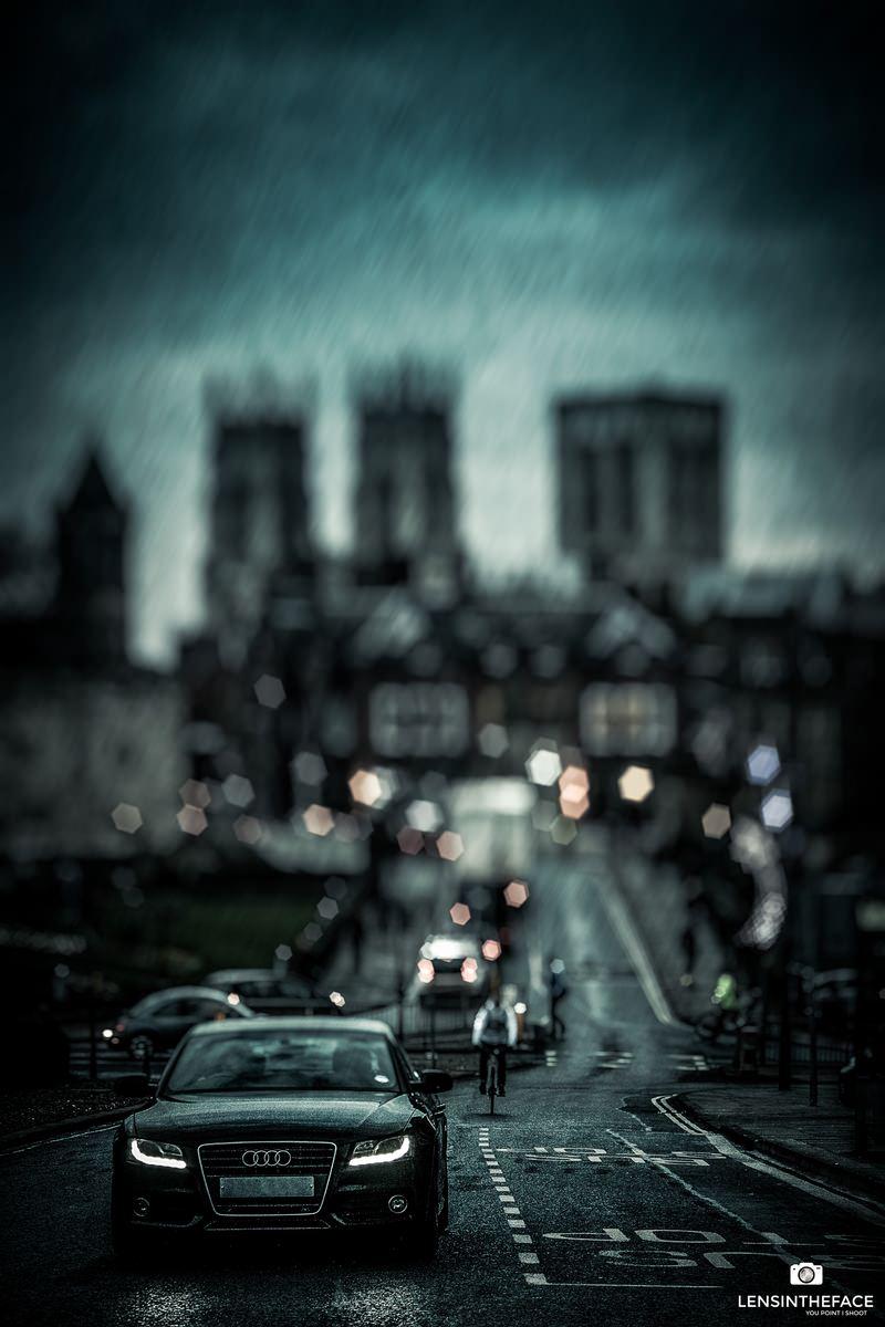 Bit rainy...