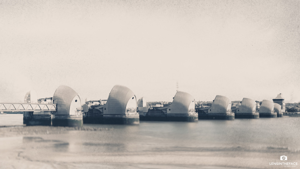 The Thames Barrier, if they keep watering it like that it might grow bigger...