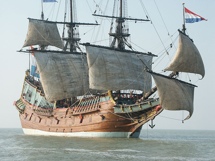 A Replica of the batavia