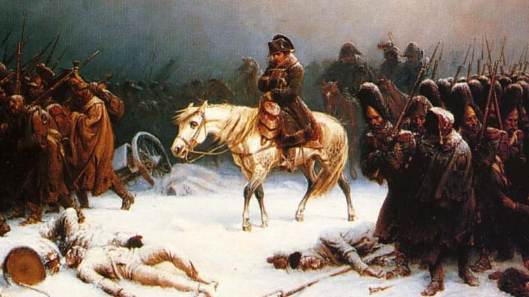 Napoleon's retreat through russia by adolph northen