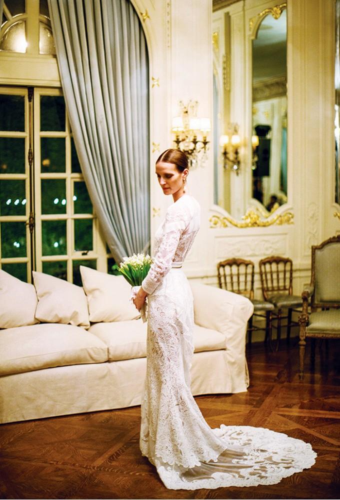 Vanessa Traina in custom Givenchy by Ricardo Tisci.