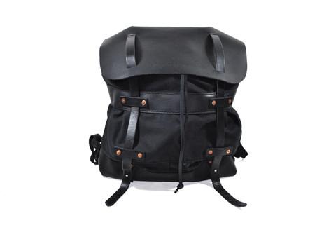 Orox Leather drawstring rucksack.