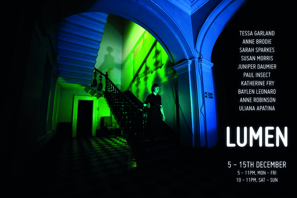 Lumen  was the second exciting exhibition in the John Denham building following  Compulsion  in the summer.