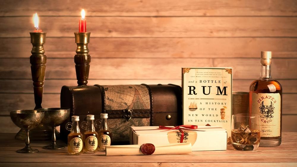 PIRATE'S GROG RUM Pirate's Grog is a Hackney-based boutique rum company, sharing award winning golden rum from Roatán, Honduras www.piratesgrogrum.com Memorial Glade