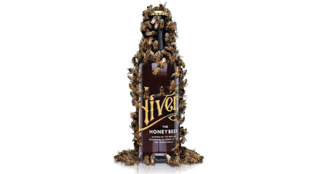 HIVER HONEY BEER Hiver sources raw honey from independent British beekeepers. Beekeepers say that good quality honey should not be pasteurised, the same way that brewers talk about good quality beer. The fact that bees forage in a three mile radius to the hive, means that the three honeys we source for Hiver are as varied and unique as the malted barley and hops that were picked during the recipe development stage. The Golem/Sanctuary Wood