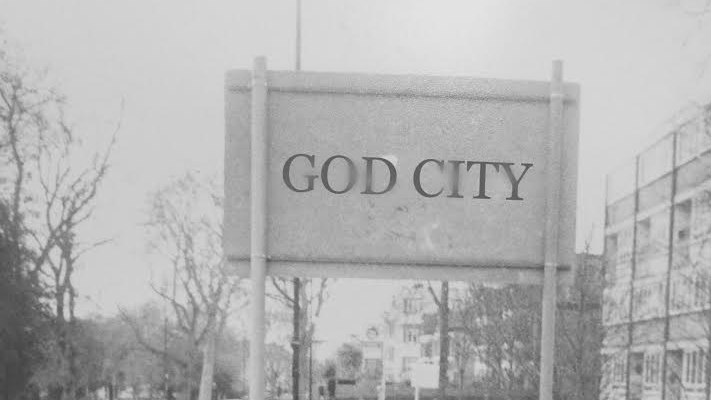 GOD CITY Built by Gods and ruled by Gods. The Old Gods have been exiled by the notorious Mr. Swansea who is now in charge of the city. They are currently in the midst of the Prime God election. Enter Pippa. High Glade 16:45 19:15