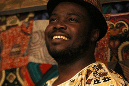 AflA SACKEY AND THE IRREVERENTS  Ghanaian-born percussionist, vocalist & composer Afla Sackey Joins The Irreverents. together they combine an electrified sound with the stylistic templates of the greats of Funk, Afrobeat & New Orleans carnival music.  7.45pm | THe music pavilion