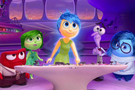 INSIDE OUT [U]  [kids]   2015, Dir.  Pete Docter, Ronnie Del Carmen   Riley moves from her midwest home to San Fransisco. Her new school and home brings five different emotions, Joy, Fear, Anger, Disgust and Sadness, viscerally into her life.   12pm | scaffold cinema