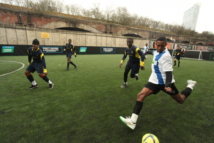 SPORT Kickabout [all ages] Mo shows Mile End how to play ball. Join a team and tackle the greatest players in the streets of Mile End for a kick around 1PM   Cantrell field
