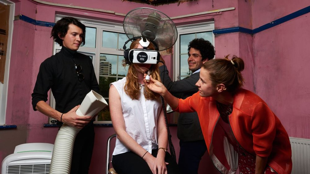 The Feelies muti-sensory vr cinema launched at shuffle festival 2015