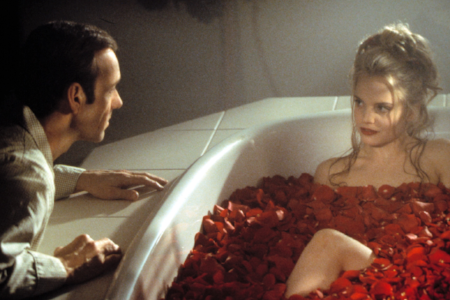 American Beauty (18)   2000, dir. sam mendes    Lester burnham is suffering a mid life crisis. his obsession with his daughter's best friend PROPELS him in to a land of fantasy.   9pm | horse chestnut glade