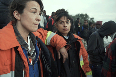 Talk      On Our Doorstep   When the Calais Jungle was ignored and condemned by authorities, regular inexperienced citizens stepped in to fill the gap. This is their untold story. Join   A discussion with calais Jungle volunteers and director & cast of feature film-in-the-making 'On Our Doorstep'.  6pm | the octagonal chapel