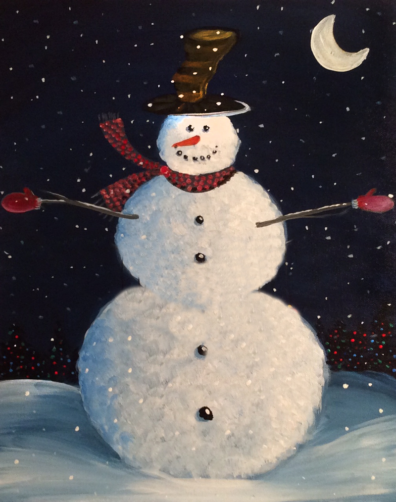 Christmas Snowman (No ornaments)