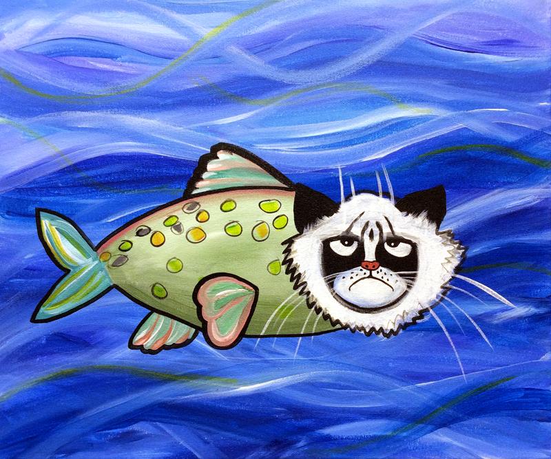 Grumpy Catfish