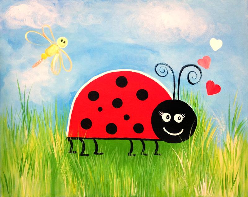 Ladybug & Dragonfly