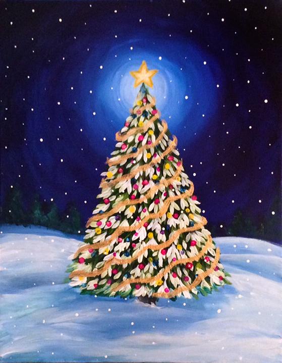 Holiday & Winter Paintings — Graffiti Paintbar