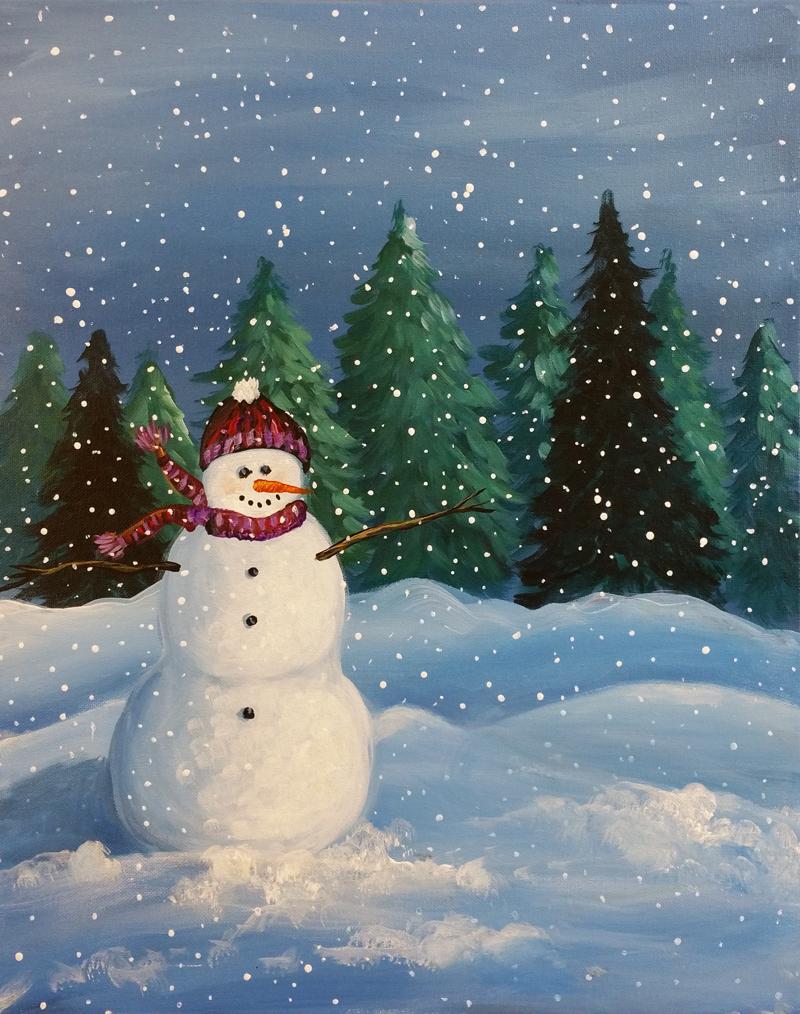 Snowy Snowman