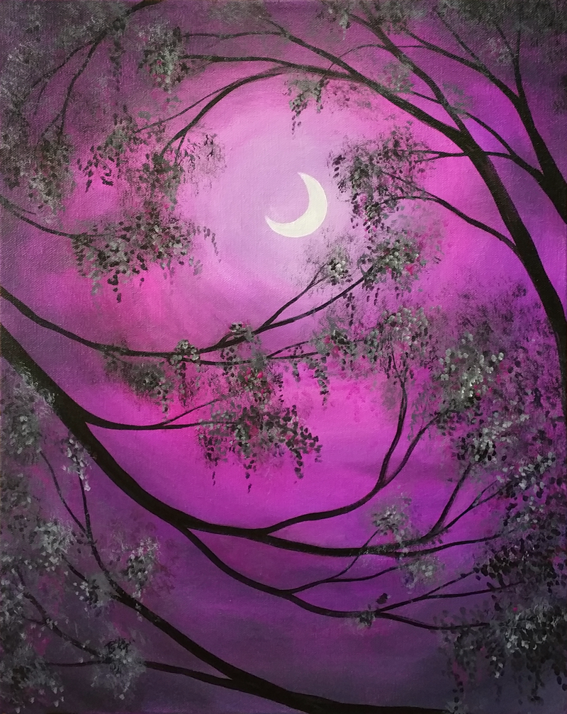 Pink Moon Glow
