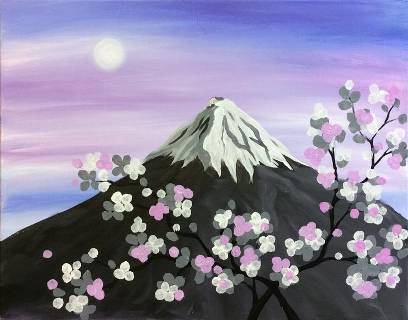 Dawn Over Fuji