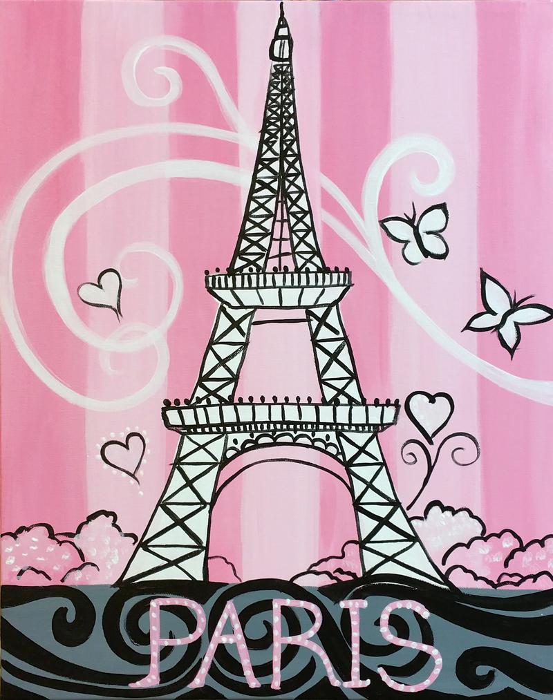 Sparkling Pink Paris