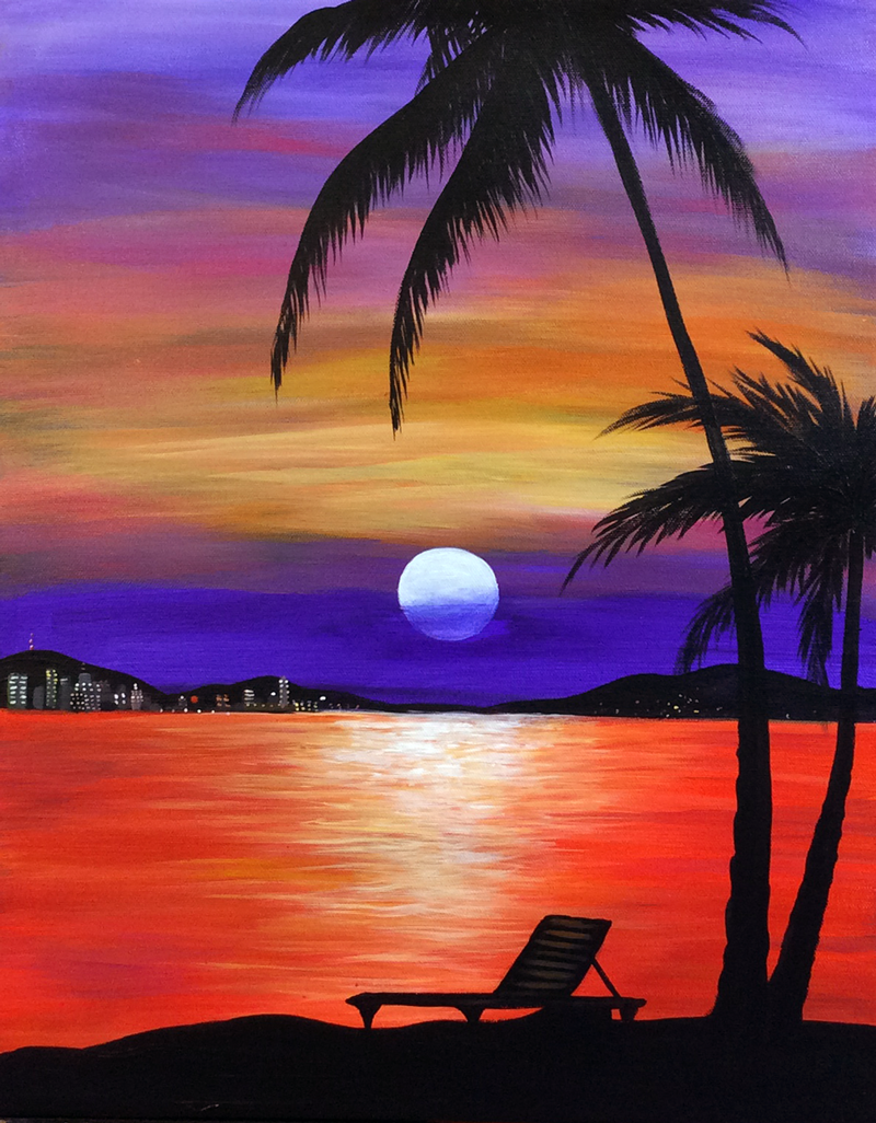 Tropical Nightfall