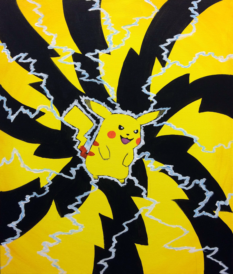 Pikachu Yellow