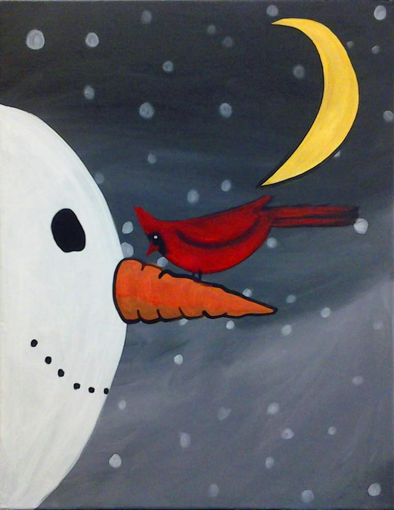 Snowman & Friend