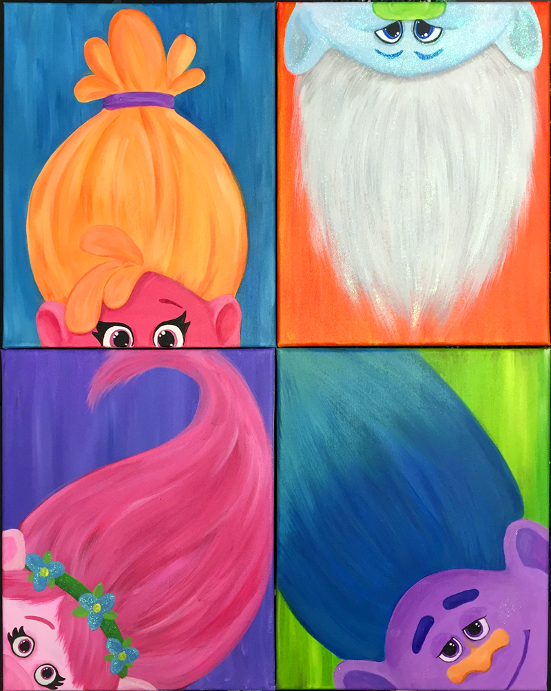 Trolls: Paint Your Favorite Troll