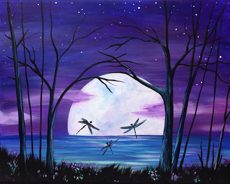 Full Moon Dragonflies