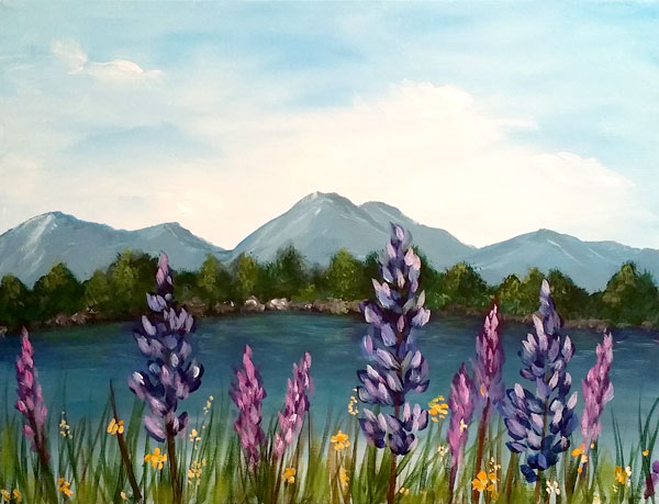 Mountain Lupines