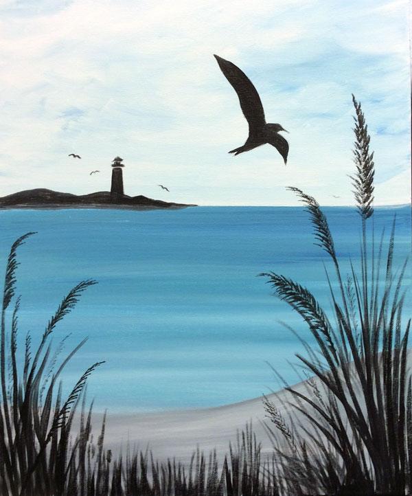 Seagulls & Seagrass
