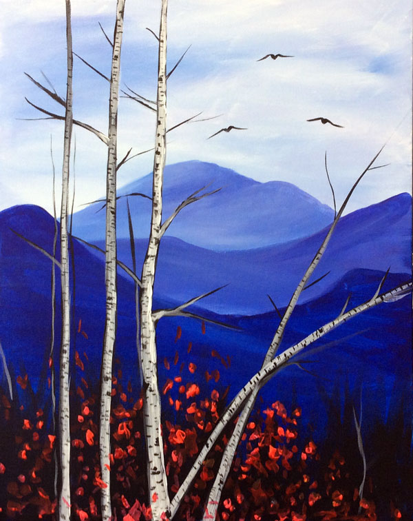 Mountain Birches