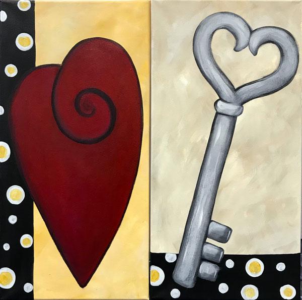 Heart & Key Couples
