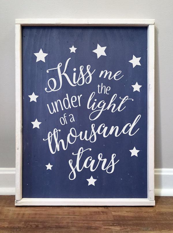 Kiss Me Under 1000 Starts