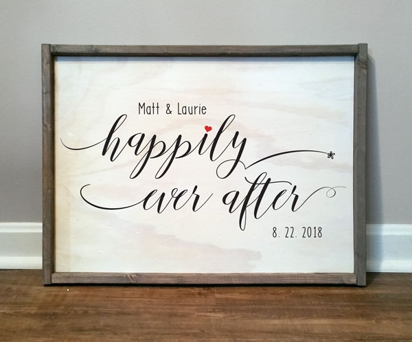 Happily Ever After, Personalized
