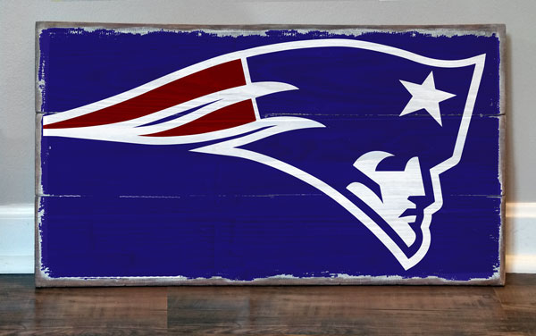 Patriots Logo Plaque